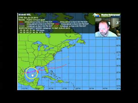 Earliest 4th storm: Debby forms in Gulf, prompts warning along ...