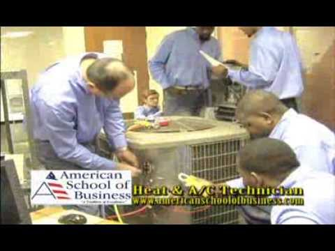 American School of Business HVAC by ELAW