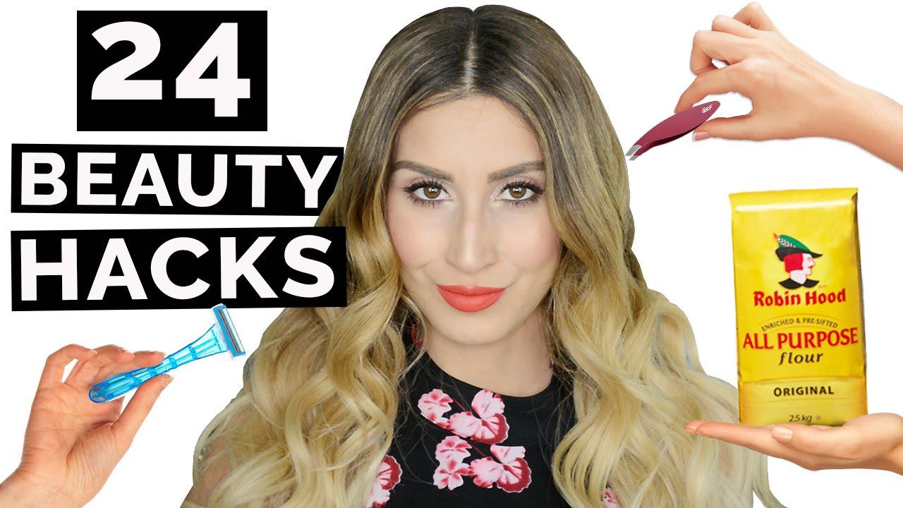 24 WEIRD Beauty Hacks That Actually Work!