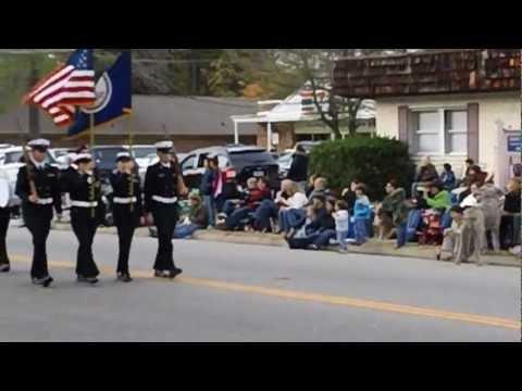 Patrick Henry High School NJROTC 2012 Ashland Holiday Parade