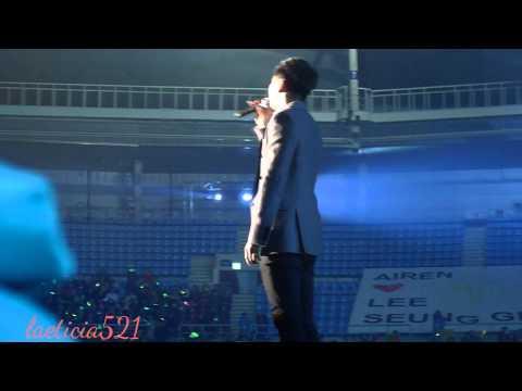 Lee Seung Gi Hope Concert 2013 Last Words