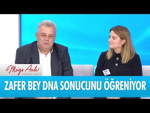 Zafer Bey DNA sonucunu canlı yayında öğreniyor - Müge Anlı İle Tatlı Sert 23 Kasım 2017