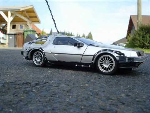 Self made RC Back to the Future Delorean 1:15 scale Diamond Select