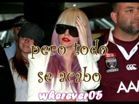 Lady Gaga - Brown Eyes En Español video