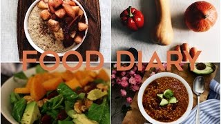 FOOD DIARY: What I eat in a Day (herbstliche vegane Lieblingsrezepte)