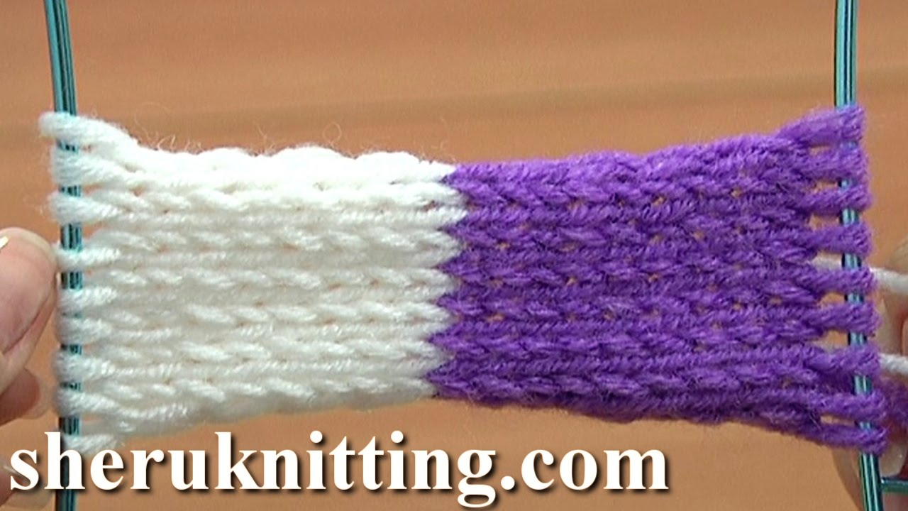 Knitting Tutorial Cast On : The provisional invisible cast on tutorial method of