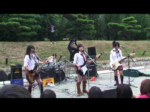 SCANDAL - Ashita no Ashita, Space Ranger, Joy yuki cover, Koi no Kajitsu (Osaka Castle Park 2007)