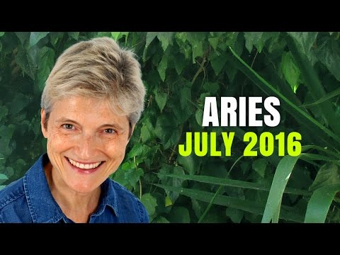 ARIES JULY 2016 ASTROLOGY HOROSCOPE - Exciting new beginnings!