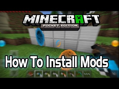 0.9.2+ How To Install Mods In Minecraft PE Pocket Edition Android