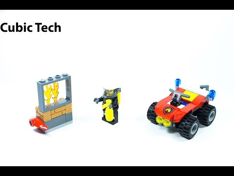 Lego City 60105 Fire ATV - Lego Speed Build