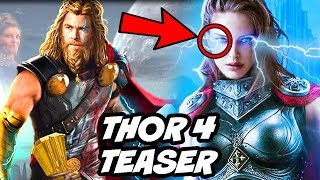 Marvel Officially Explained Female Thor Origin in Thor 4 Love and Thunder