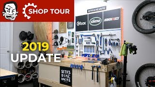 Tour of my Home Bike Shop after almost 2 years