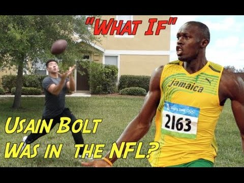 """WHAT IF"" Usain Bolt Was In The NFL!?"