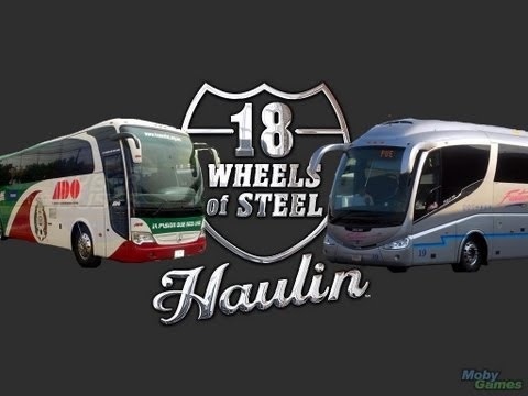 18 Wheels Of Steel Haulin con el mod bus mexico