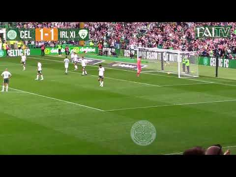 HIGHLIGHTS: Celtic 2-2 IRL XI