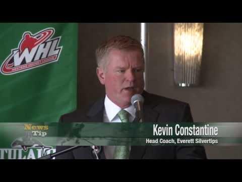 Everett Silvertips hire Head Coach Kevin Constantine