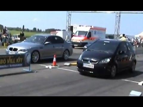 Mitsubishi Colt Czt. BMW M5 Vs. Mitsubishi Colt CZ3