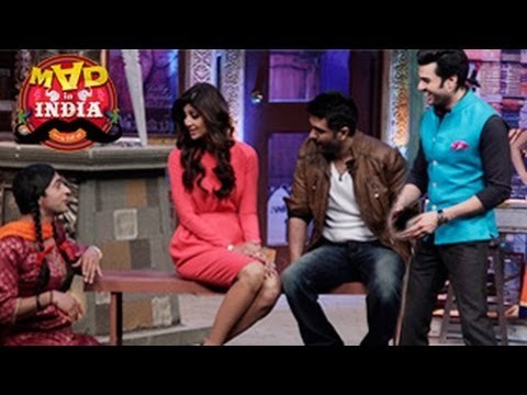 Shilpa Shetty and Harman Baweja TO PROMOTE Dishkiyaaoon On Mad in India 9th March 2014 FULL EPISODE