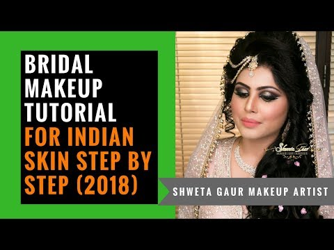 Most Beautiful Bridal Makeup Tutorial Video | Step by Step Indian Bridal Makeup | Shweta Gaur
