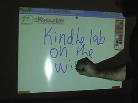Wiimote IWB with Edusim & Kindlelab as the software projects