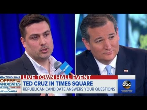 Gay Republican Confronts Ted Cruz On Same-Sex Marriage (VIDEO)