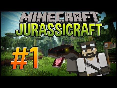 Minecraft Dinosaurs (Jurassicraft) | Let's Play #1 | Let's Build Jurassic Park.