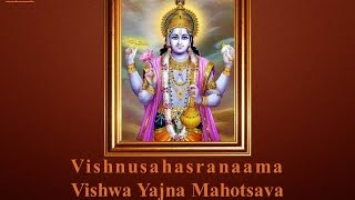Vishnusahasranaama Vishwa Yajna Mahotsava - Introduction