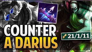 ¡JUEGA DARIUS Y LE HAGO COUNTER! URGOT ES DIOS | League of Legends