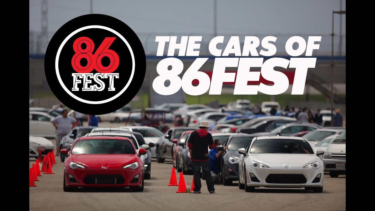 Cars Like Scion Frs >> Cars of 86FEST: Scion FR-S, Subaru BRZ, Toyota AE86 Festival at Auto Club Speedway - YouTube