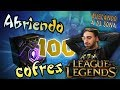 ABRIENDO 100 COFRES DEL LEAGUE OF LEGENDS | EN BUSCA DE DJ SONA thumbnail