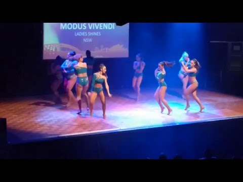 2016 Sydney International Bachata Festival - Modus Vivendi Ladies