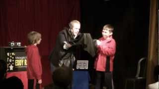 PA Magician Eddy Ray - Audience Fun Magic Escape