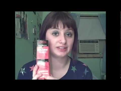 Tutorial on how to get bright red hair without bleaching!!! Using Loreal hicolor hilights in magenta