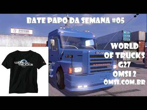 Bate Papo Da Semana #05 - Concurso No World Of Trucks, Omsi 2, Sorteio Do G27 E Mais.. video