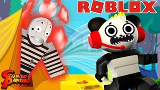 WORST CAMPING TRIP EVER! Let's Play ROBLOX CAMPING 2 with Combo Panda
