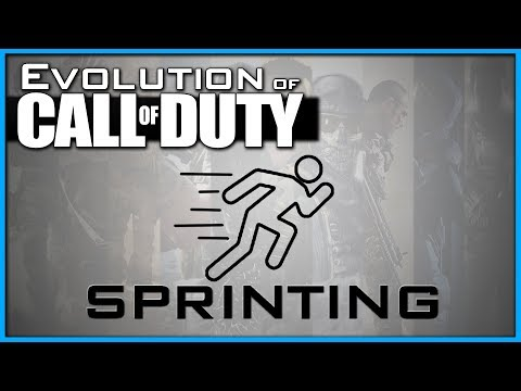 How has Sprinting Changed? | Evolution of Call of Duty! (CoD4 - WW2)