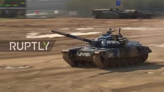 Battle of the tanks: Russia crowned winners as 32 nations compete