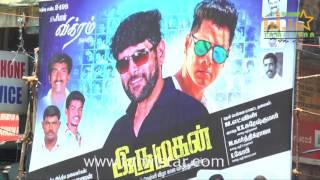 Irumugan Movie First Day First Show