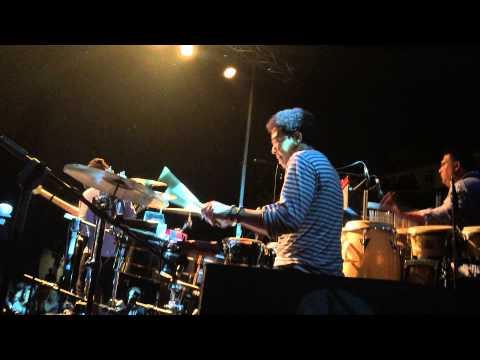 Luisito Quintero Concierto con Richard Bona y Mandekan  en Valencia España 18/07/15