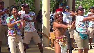 Amber Cove, Dominican Republic, Cruise terminal. Welcome Dance