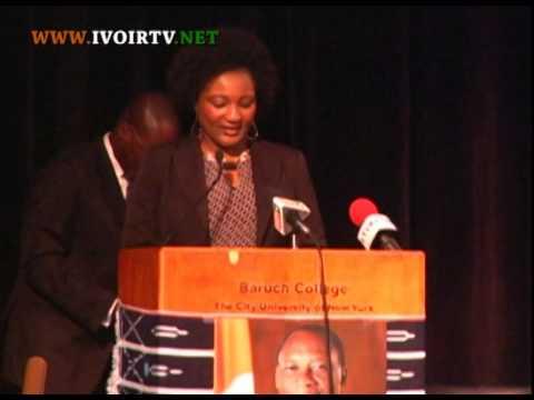 Rencontre entre le Président Alassane Ouattara et les Ivoiriens des Etats  Unis  à  New York