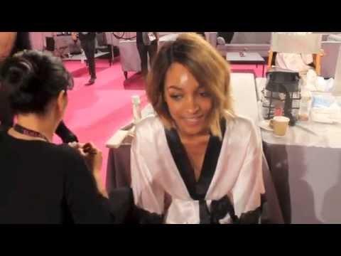 Jourdan Dunn Interview At Victoria's Secret