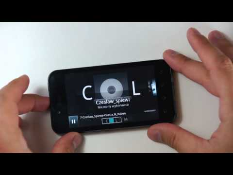 LG P970 (Optimus) Swift Black - part 4