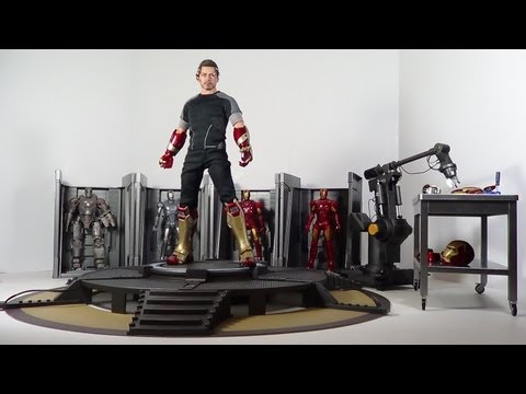 Hot Toys Tony Stark Iron Man 3 Movie Masterpiece 1/6 Scale Figure Review