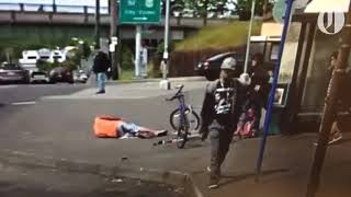 Shooting at TriMet bus stop