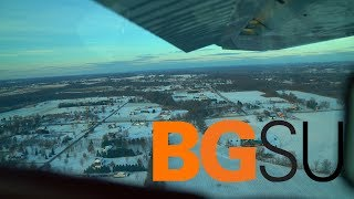 FLYING To And TOURING Bowling Green State University! | Cessna 182 (ATC Audio) | 18 Year Old Pilot