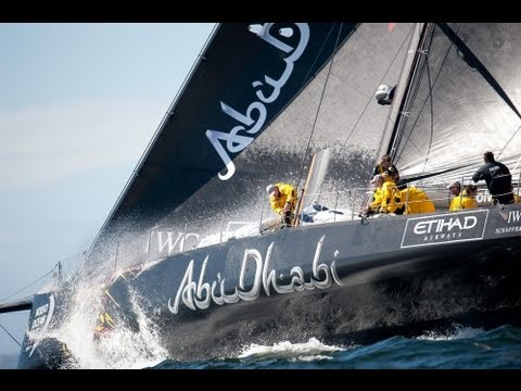 Abu Dhabi returns - Volvo Ocean Race 2014-15