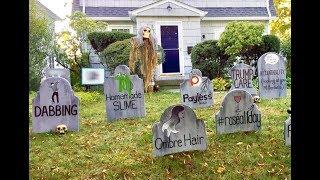 The Best Halloween Graveyard EVER?