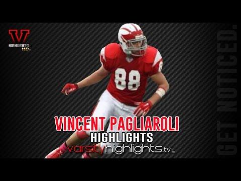 Vincent Pagliaroli 2015 Season Highlights (DE   TE Tappan Zee Dutchmen)