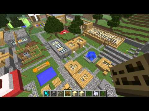 Minecraft Clay Soldiers Civilization Project Episode 38 Swimming Pool + Tree Top Village